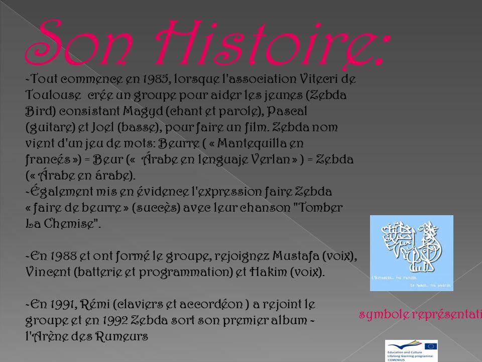Genre musical : - Rock. - Reggae. - Punk. Ville: - Toulouse, France. Thèmes traités: -Racisme. - Injustices politiques et sociales. – Forte influence
