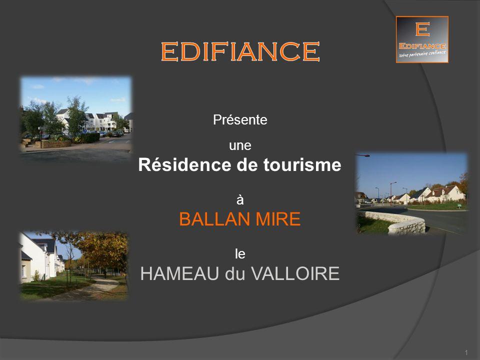 HAMEAU du VALLOIRE Ballan Miré Photos non contractuelles Gîtes en cours de construction : Appartement témoin 12