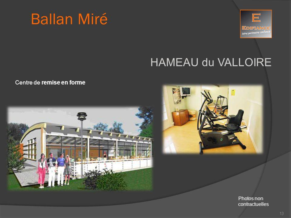 HAMEAU du VALLOIRE Centre de remise en forme Ballan Miré Photos non contractuelles 13