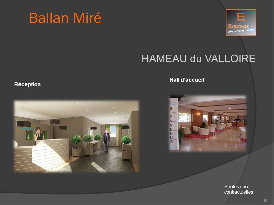 HAMEAU du VALLOIRE Réception Hall d'accueil Ballan Miré Photos non contractuelles 16