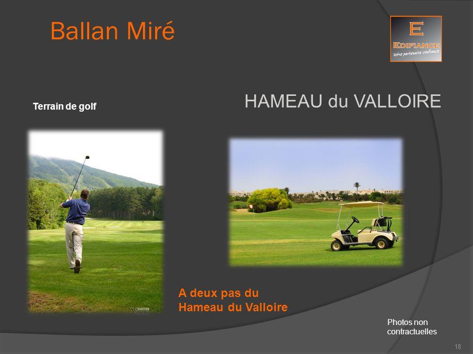 HAMEAU du VALLOIRE Terrain de golf Ballan Miré Photos non contractuelles A deux pas du Hameau du Valloire 18
