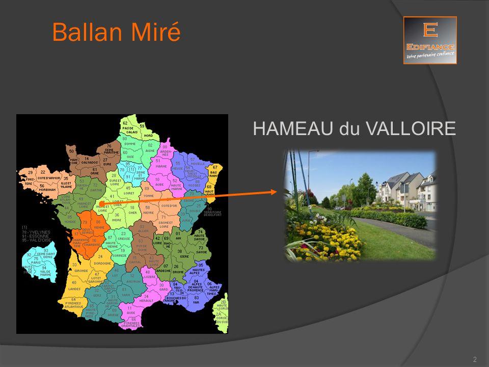 Ballan Miré : simulation Votre projet 33