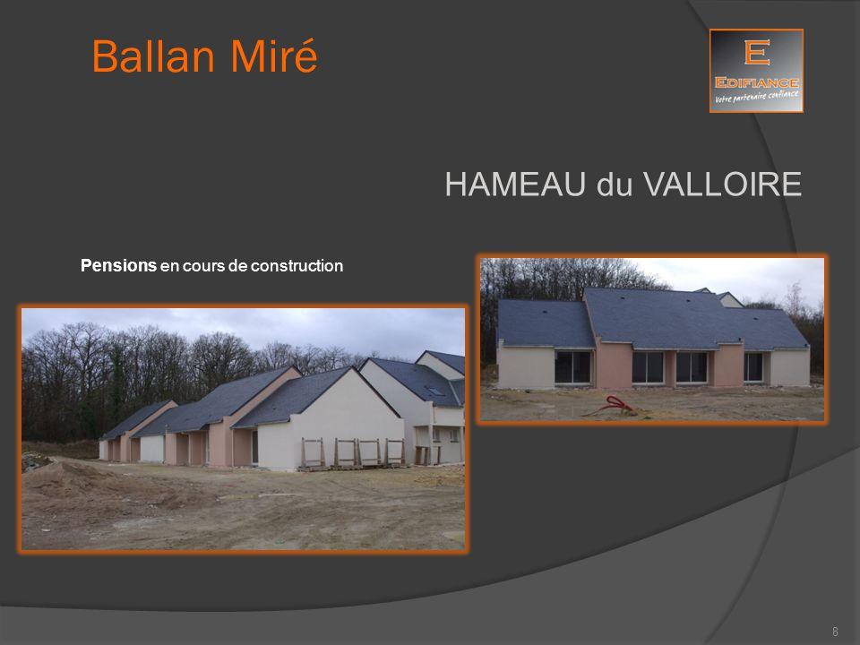 HAMEAU du VALLOIRE Ballan Miré Pensions en cours de construction 9