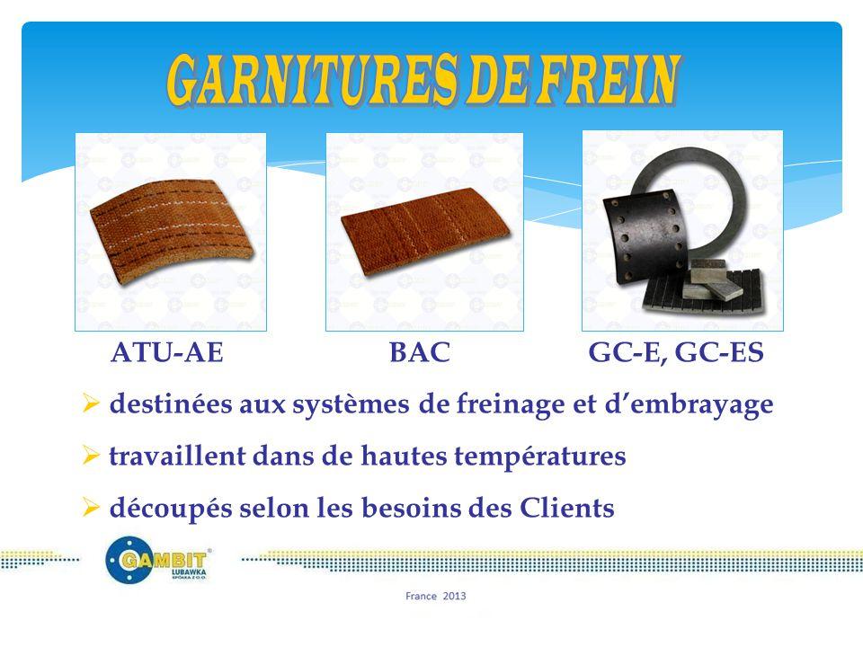  Tresses  cordons  textiles et rubans  tecture BA  produits formés sous vide