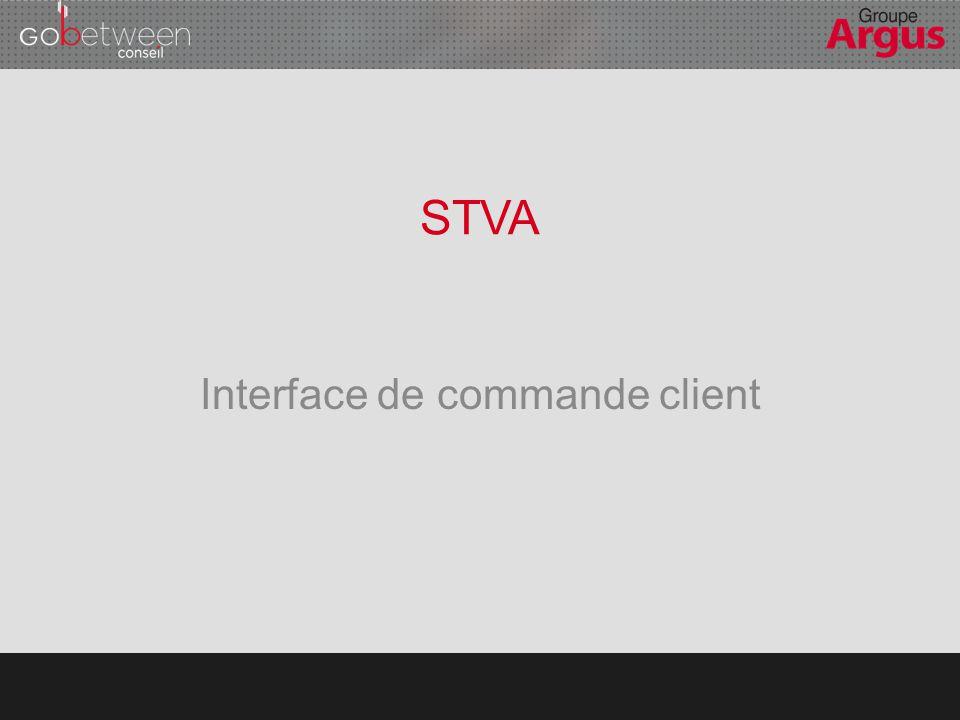 OBJECTIF Proposer aux petits comptes de la STVA la possibilité de commander des prestations de transport en ligne et de suivre l'avancée de leurs livraisons