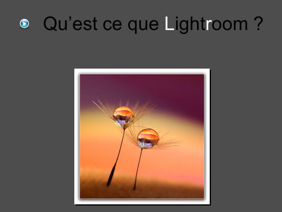 Qu'est ce que Lightroom