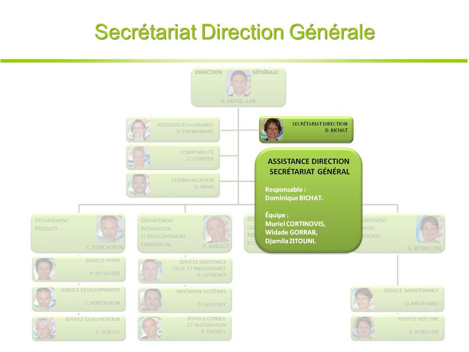 Secrétariat Direction Générale