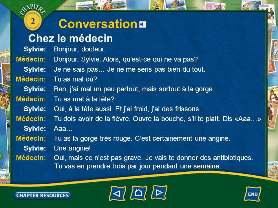2 Conversation Chez le médecin
