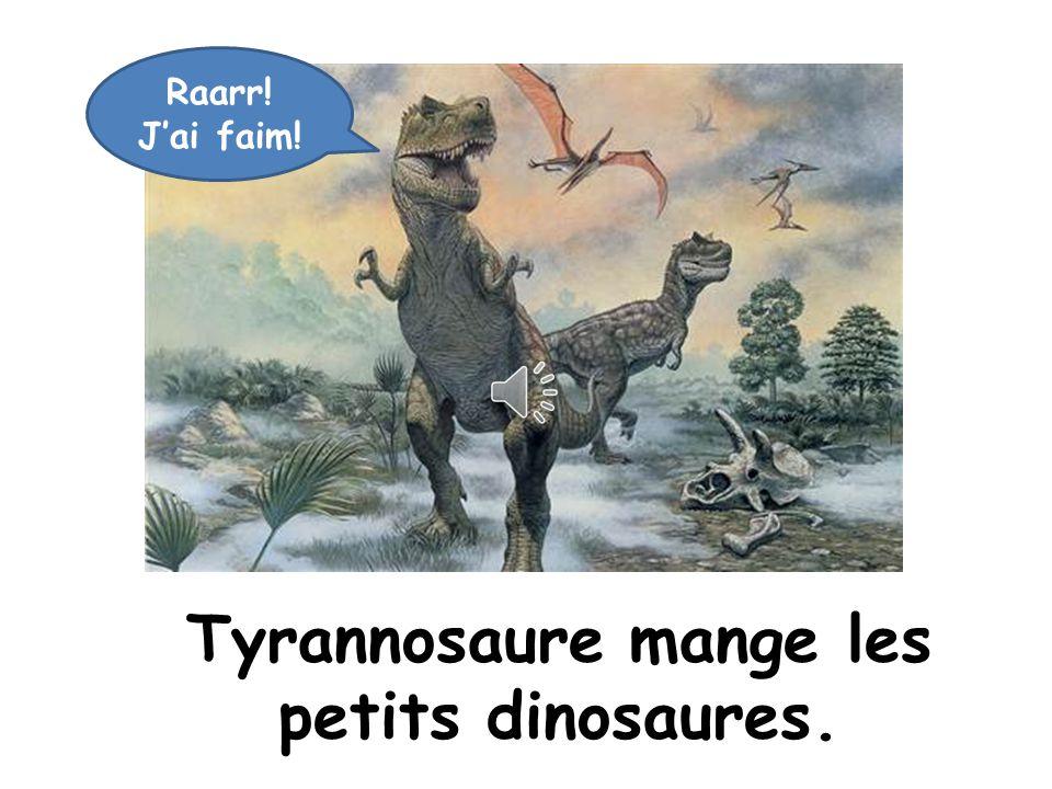 Ça va Tyrannosaure Ça va mal!