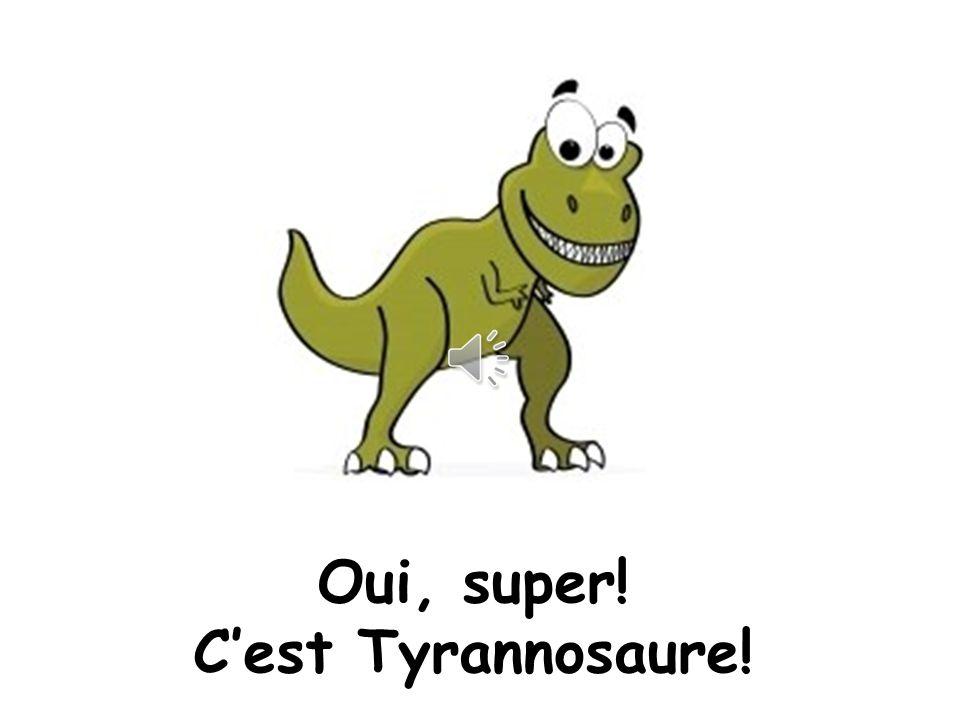 Quiz! 8. Le chien est déguisé en quel dinosaure Raar!