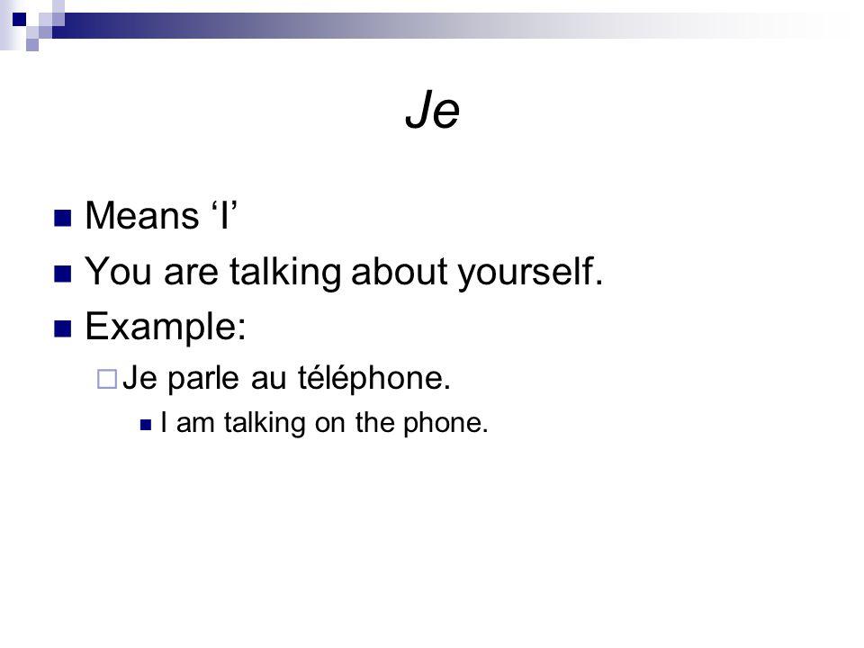 Practice on your own.Quel pronom sujet remplace les suivantes: 1.
