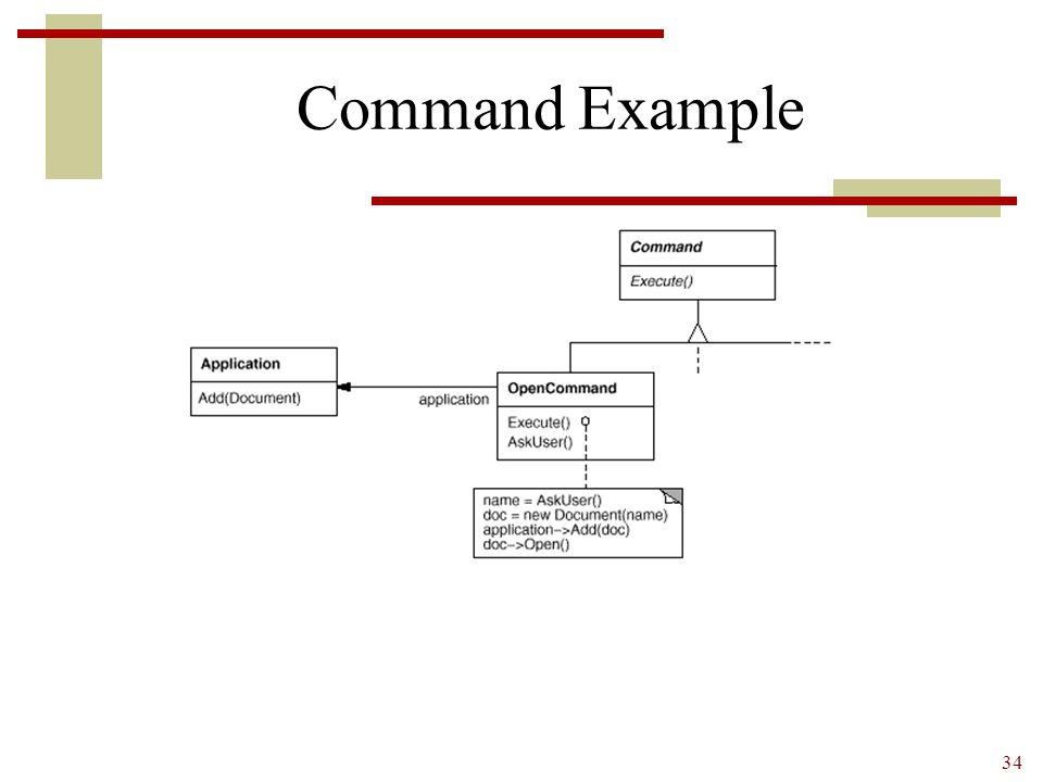 34 Command Example