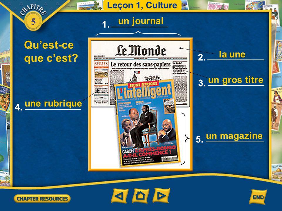 5 Plus de vocabulaire un mobile un motif, une motivation le tirage la quantité d'exemplaires d'un journal ou d'un livre imprimé en une seule fois tuer
