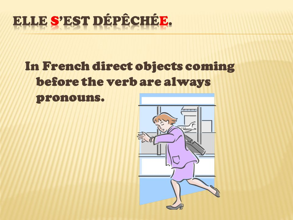 In the sentence above, there is agreement because the direct object is « se » and it comes before the verb.