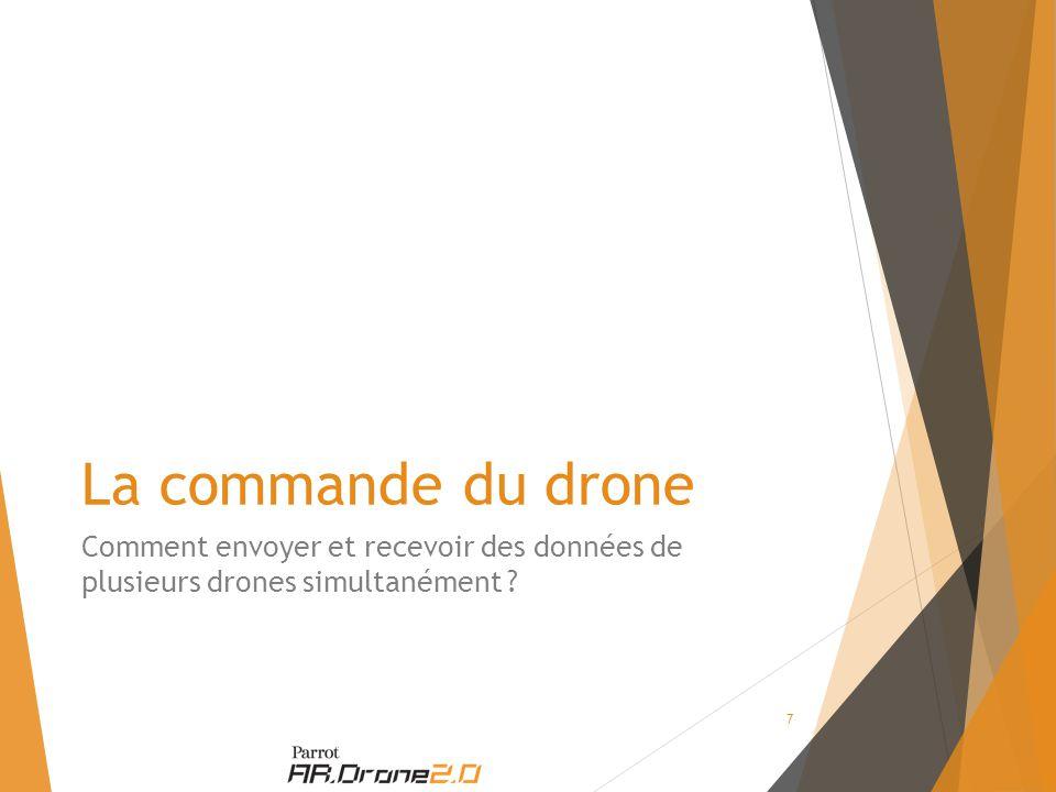 La commande du drone Comment envoyer et recevoir des données de plusieurs drones simultanément 7