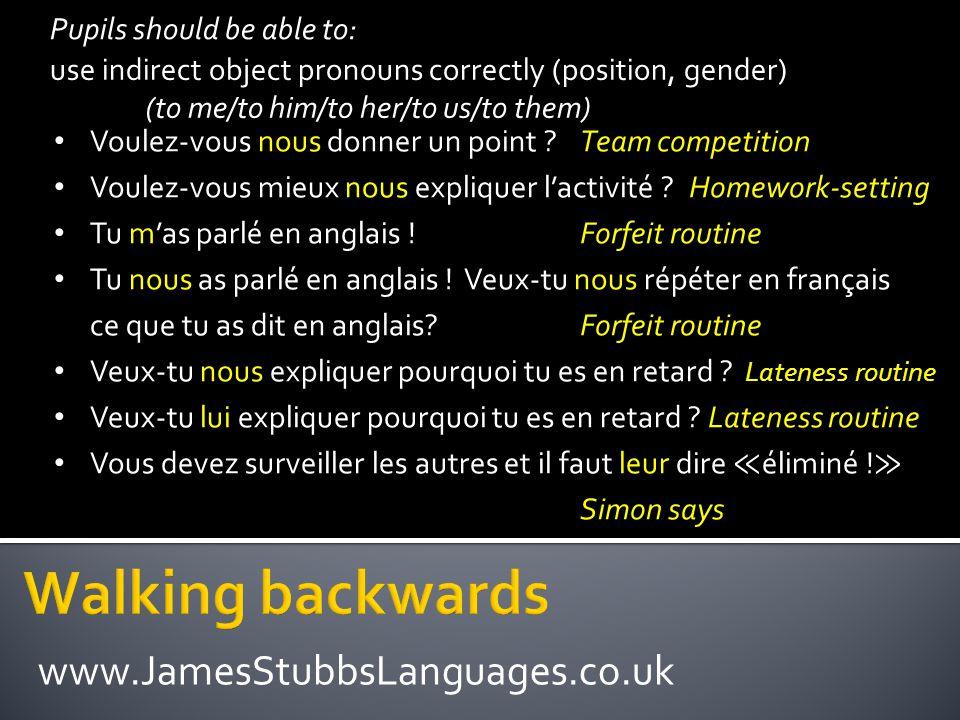 Les devoirs pour mercredi Tu dois cocher les phrases qui sont correctes, et corriger les phrases qui contiennent des erreurs.