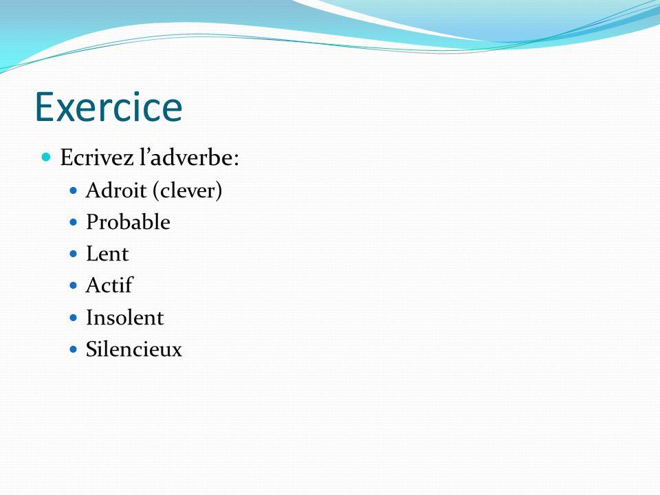 Avoiding the Subjunctive Quand on veut éviter le subjonctif, on utilise le forme: Indirect Object + Verbe + de + Infinitive Exemple: Je vous conseille de travailler plus dur.