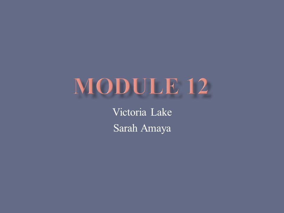 Victoria Lake Sarah Amaya