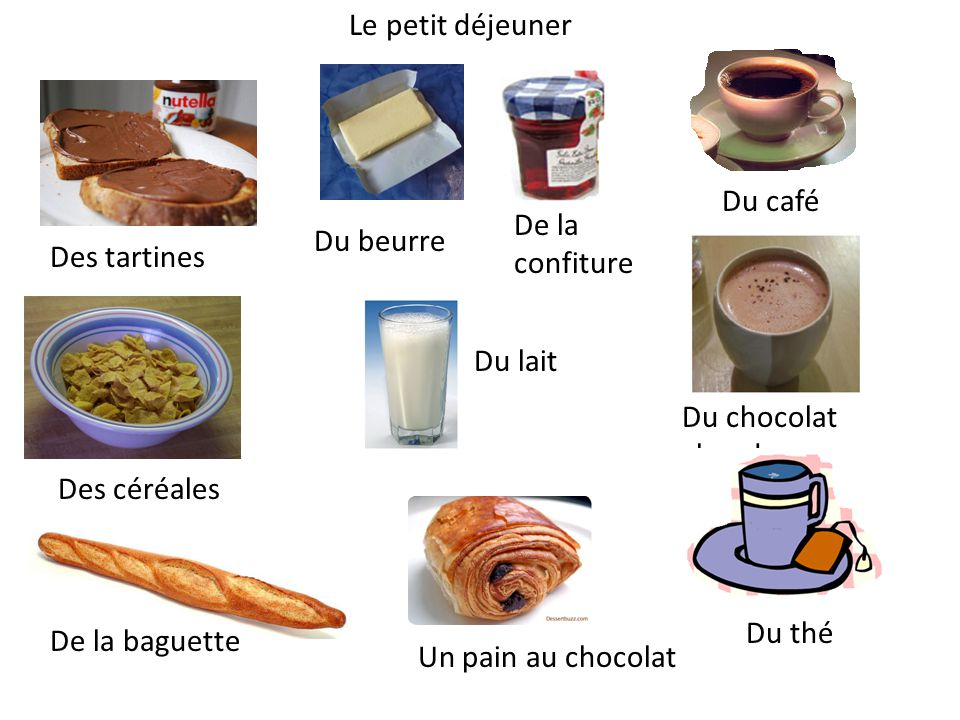 Le déjeuner/le dîner Note Culturelle Meals are very important in France.