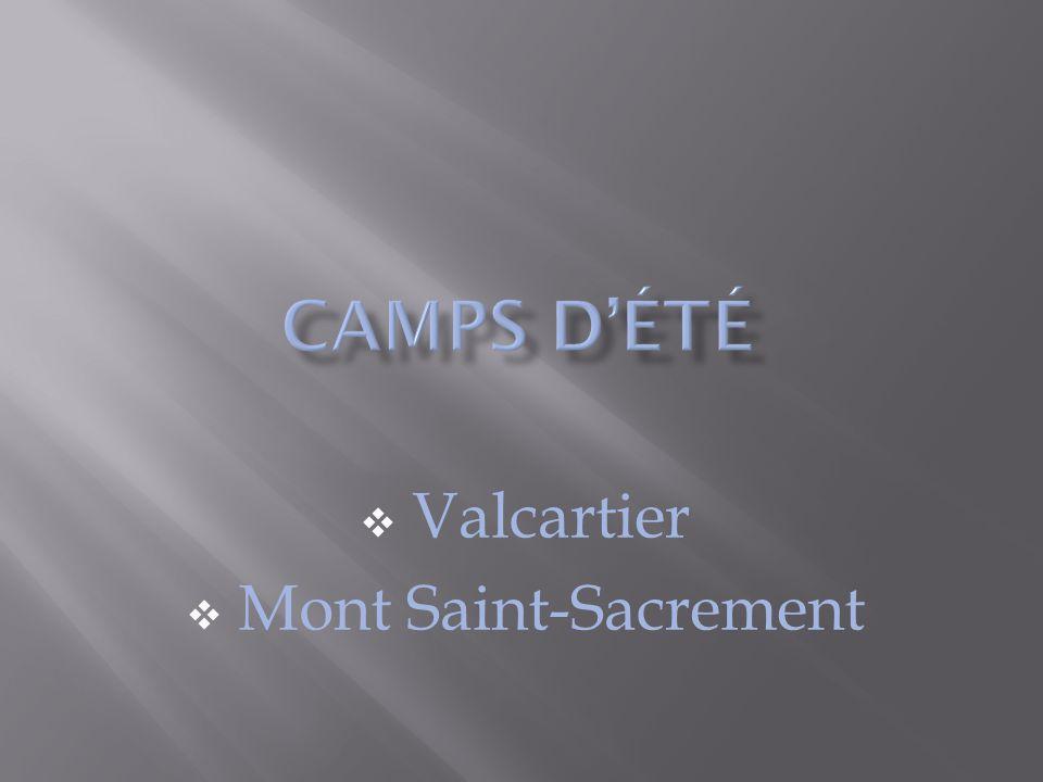  Valcartier  Mont Saint-Sacrement