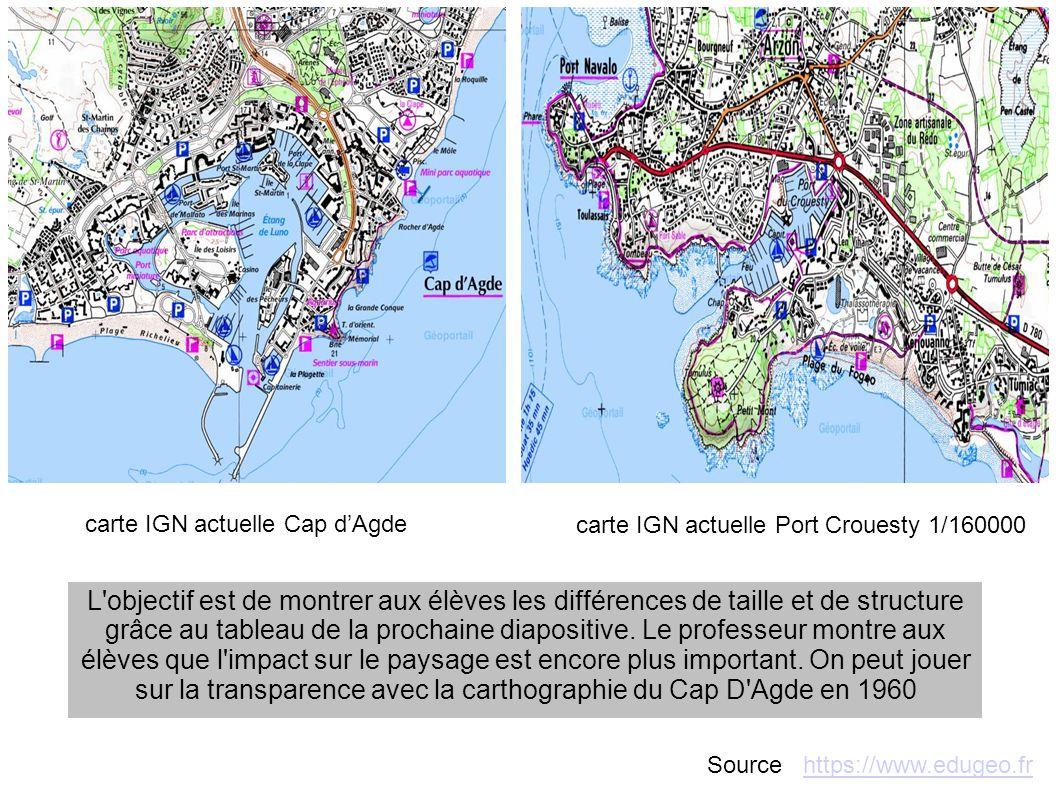 Aménagement Cap d AgdeAménagement Port Crouesty Source : https://www.edugeo.frhttps://www.edugeo.fr