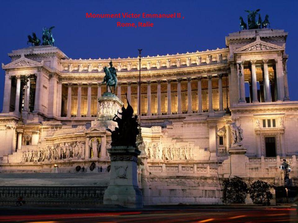 Monument Victor Emmanuel II, Rome, Italie
