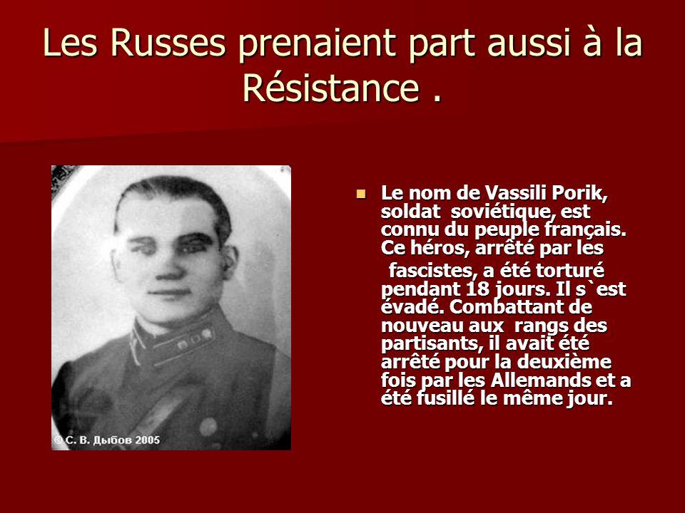 Une des combattentes russes de la Résistance.Elisaveta Skobtsova a émigré à Paris en 1919.