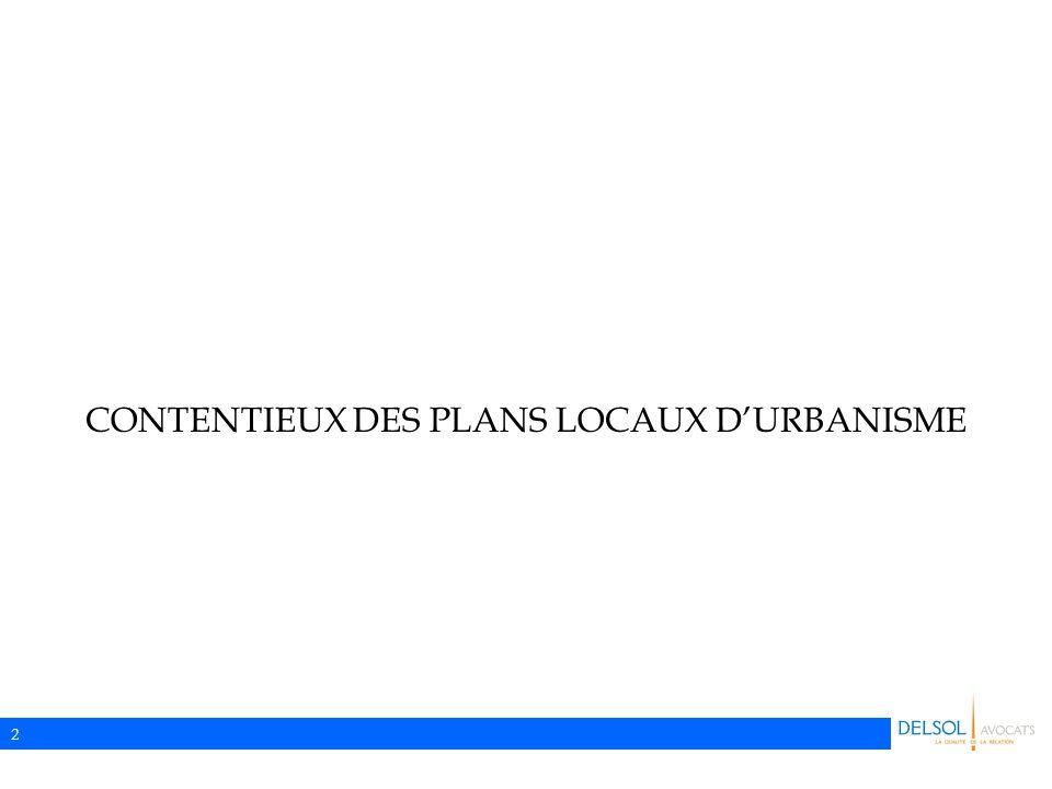 2 CONTENTIEUX DES PLANS LOCAUX D'URBANISME