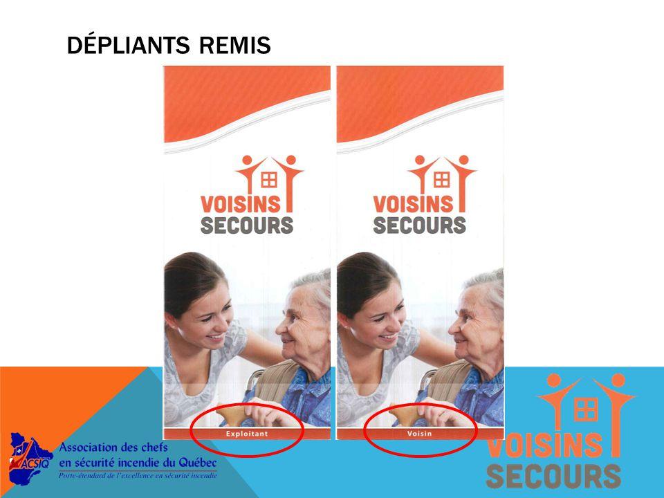 MISE EN ŒUVRE Phase 3  Publicité auprès des résidences non participantes par le biais des agences de santé.