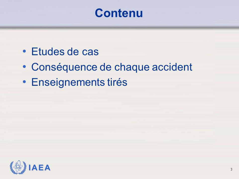 IAEA Caractéristiques de l équipement Serrure de sécurité Radionucléide: Ir1-92 Activité Max: 3,7 TBq 14
