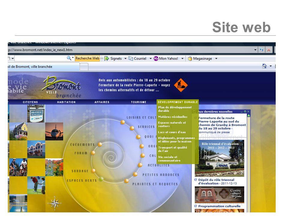 ORGANISATION TERRITORIALE ET DÉVELOPPEMENT DURABLE Site web