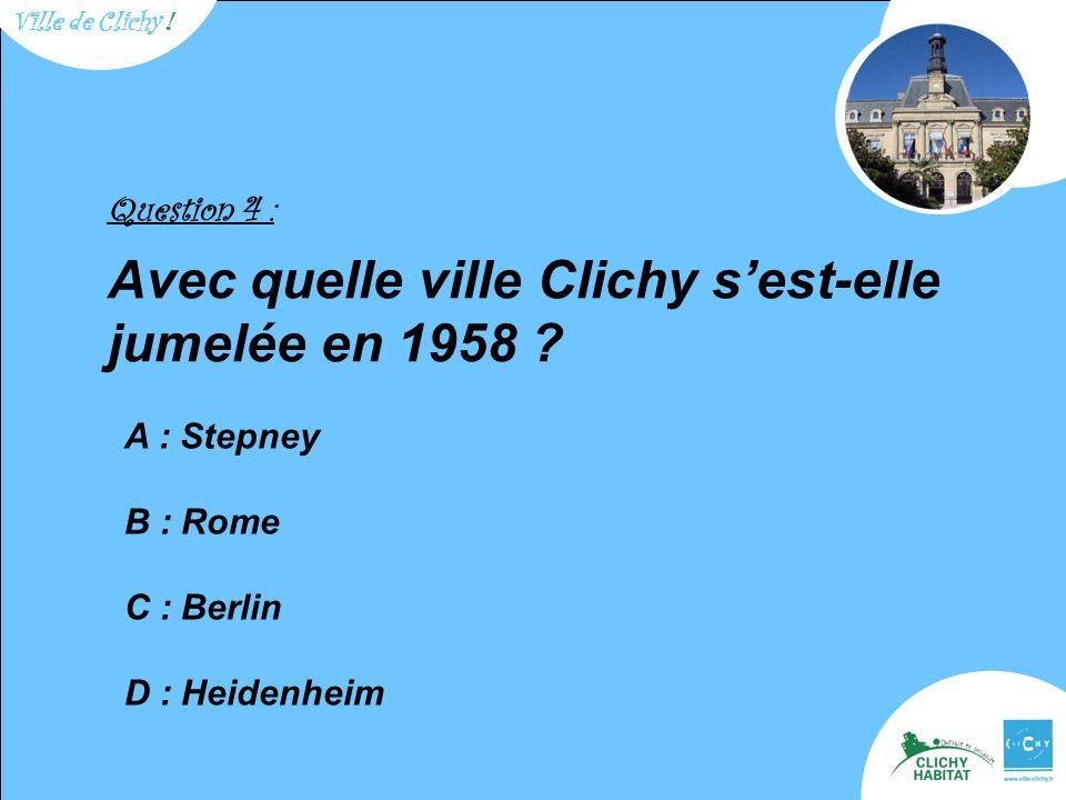 Question 9 : Quel fut le premier nom du parc Salengro .
