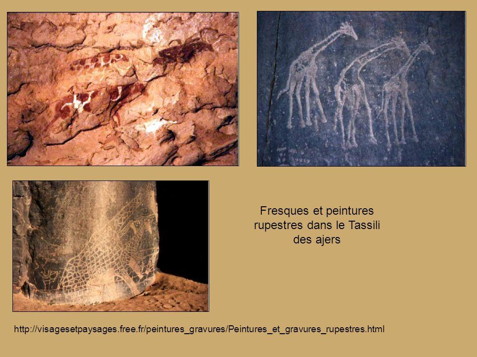 http://visagesetpaysages.free.fr/peintures_gravures/Peintures_et_gravures_rupestres.html Fresques et peintures rupestres dans le Tassili des ajers