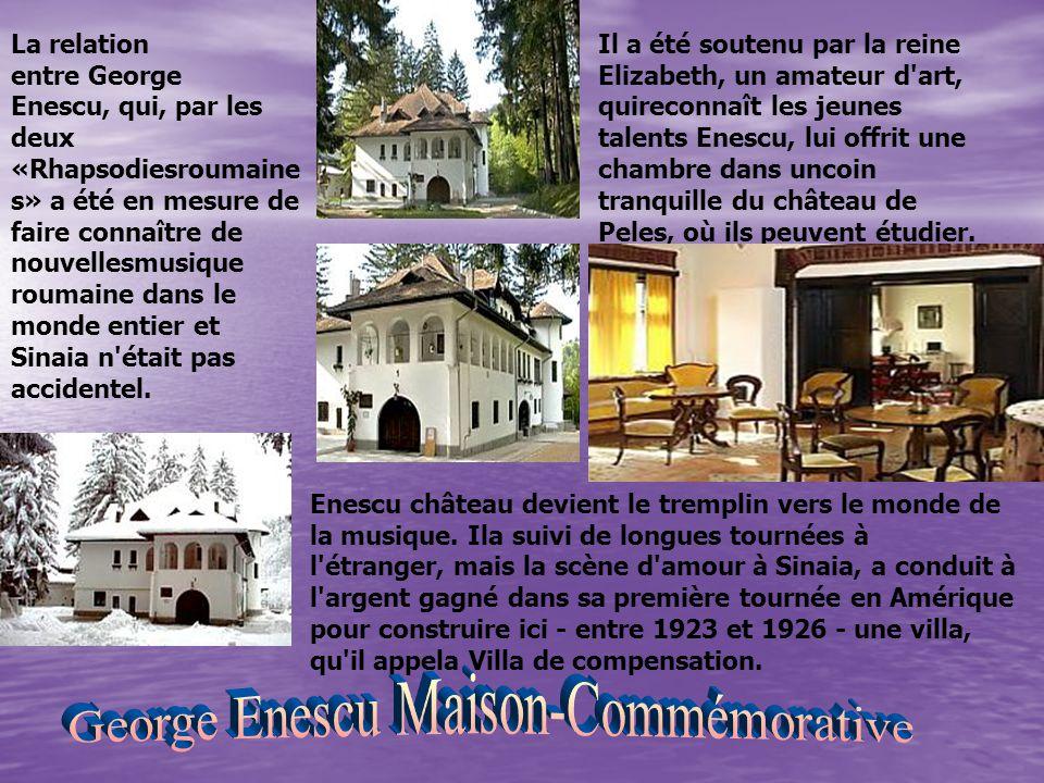 La relation entre George Enescu, qui, par les deux «Rhapsodiesroumaine s» a été en mesure de faire connaître de nouvellesmusique roumaine dans le mond