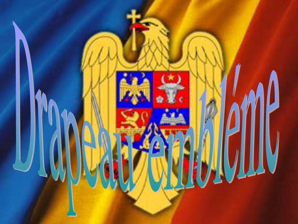 Couleurs du drapeau de la Roumanie sont : bleu jaune rouge