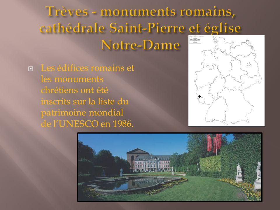  Les édifices romains et les monuments chrétiens ont été inscrits sur la liste du patrimoine mondial de l'UNESCO en 1986.