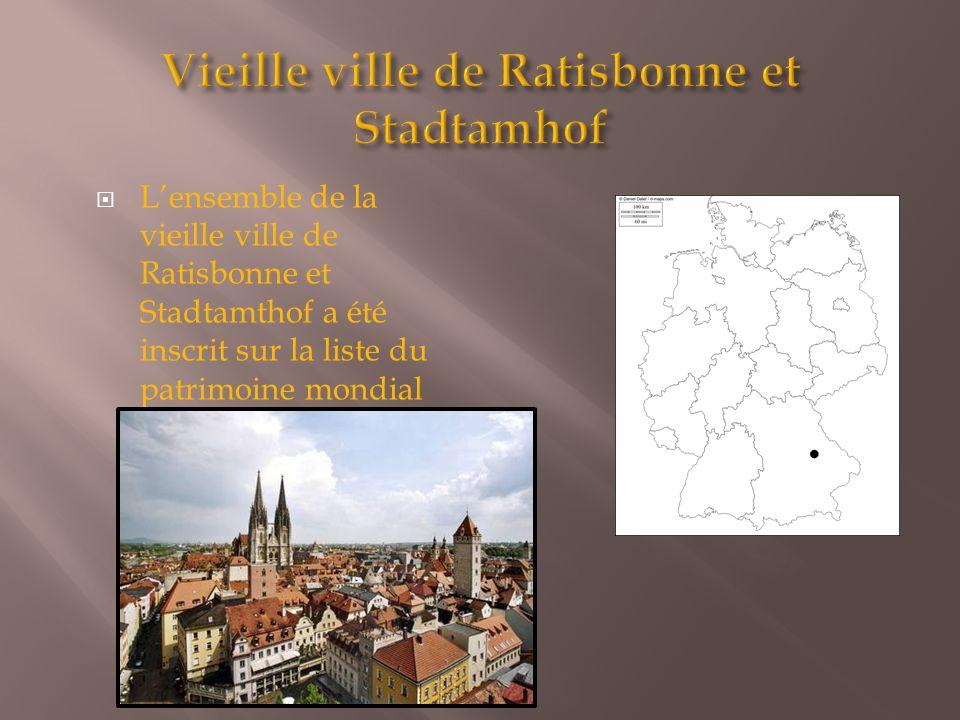  L'ensemble de la vieille ville de Ratisbonne et Stadtamthof a été inscrit sur la liste du patrimoine mondial de l'UNESCO en 2006.