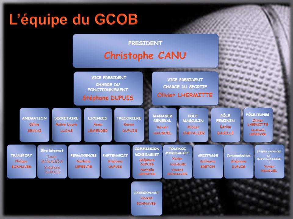 Créée en 1967, la section basket du GCOB n'a cessé de progresser au fil des ans.