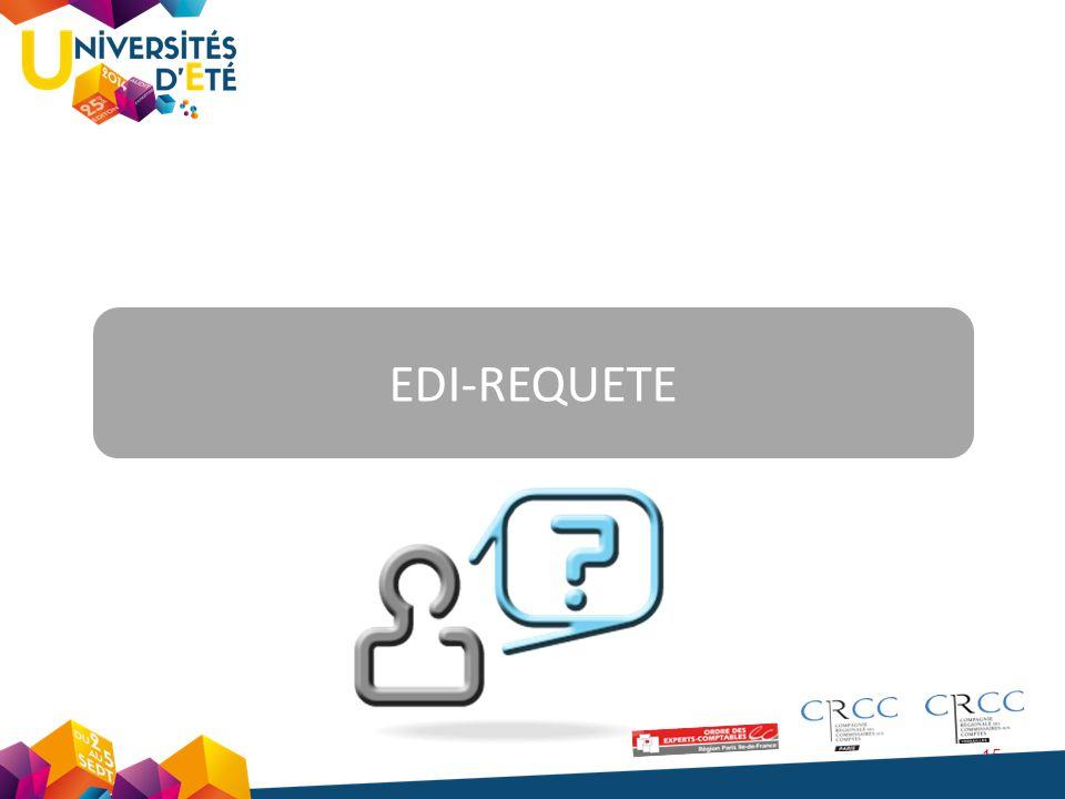 15 EDI-REQUETE