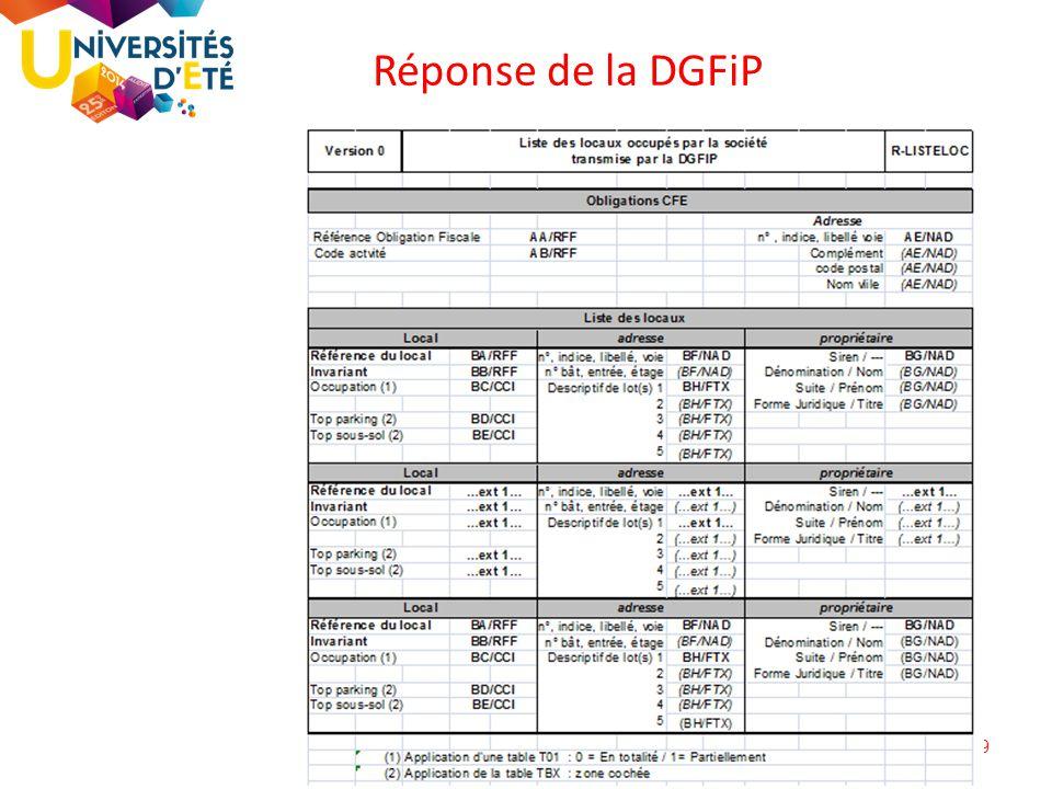 19 Réponse de la DGFiP