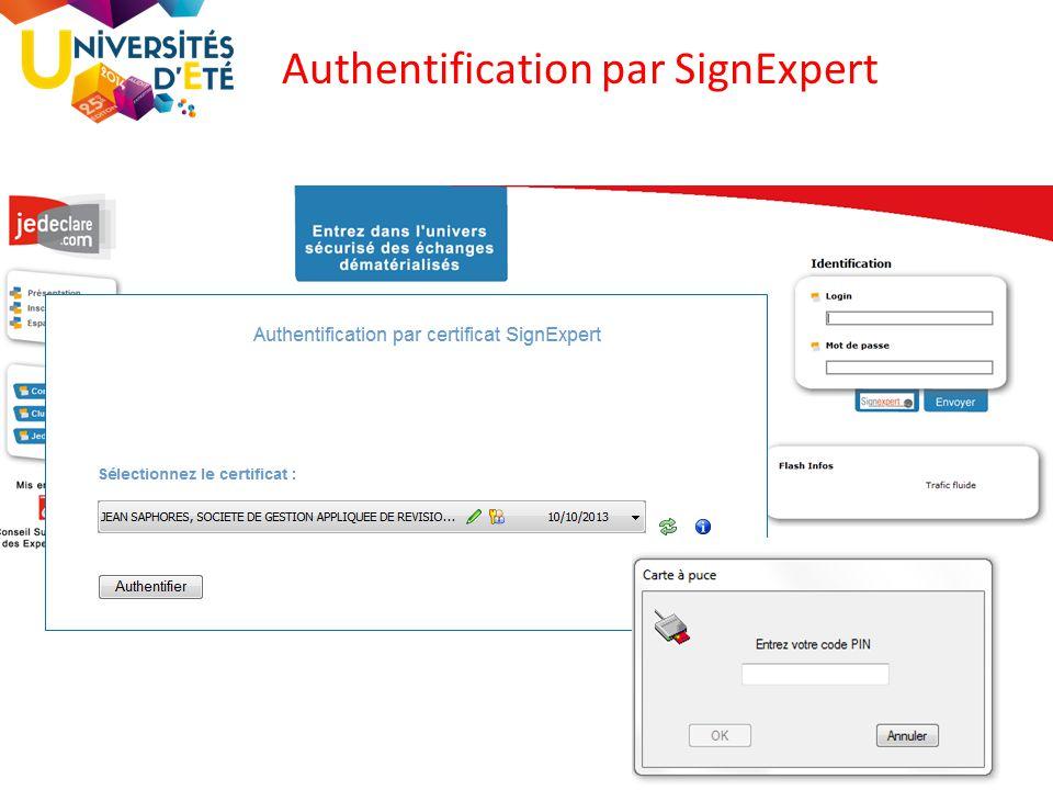 50 Authentification par SignExpert