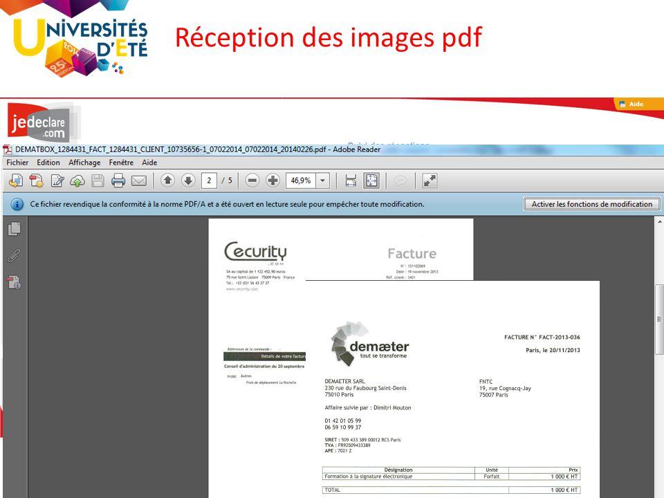 79 Réception des images pdf