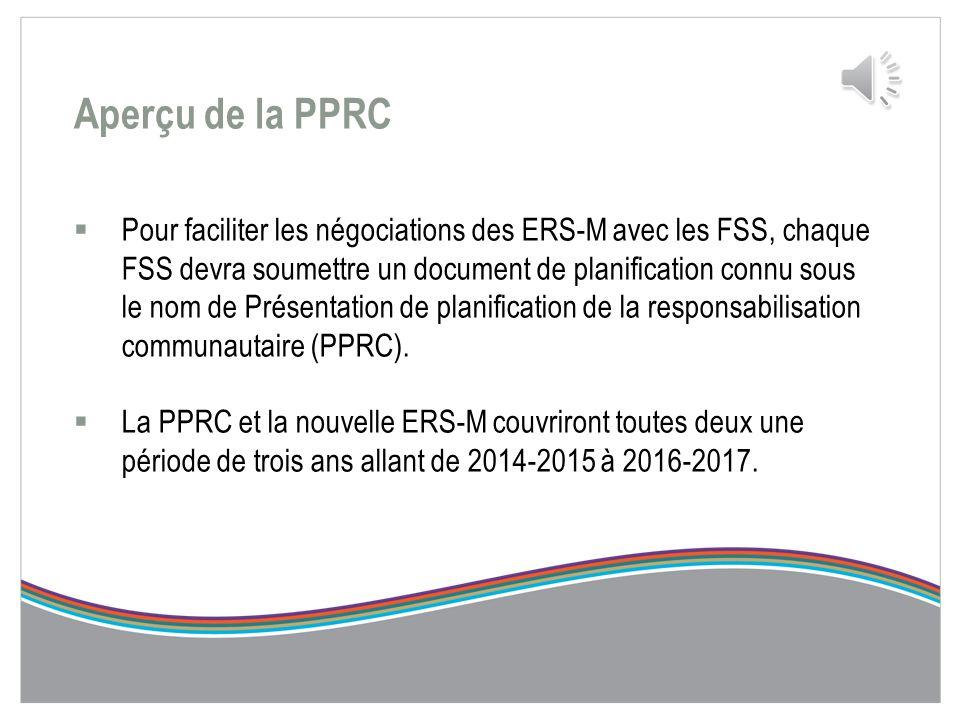 PRÉSENTATION DE PLANIFICATION DE LA RESPONSABILISATION COMMUNAUTAIRE 2014-2017 (PPRC) Aperçu