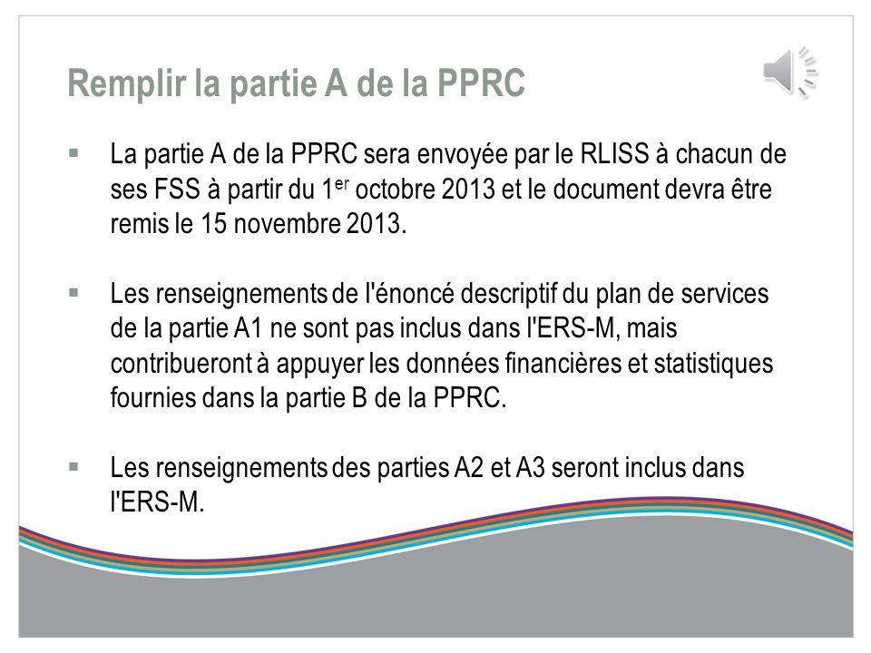 Remplir la PPRC 2014-2017