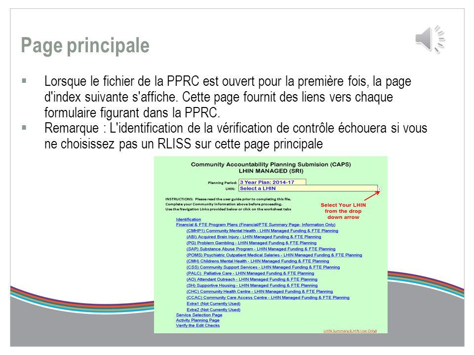 Extraction de votre PPRC  En suivant les directives et les étapes du guide de l'utilisateur de l'PPRC, vous pourrez à un moment donné choisir l'optio