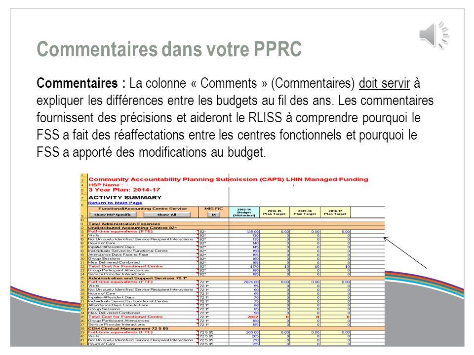 Page principale  Lorsque le fichier de la PPRC est ouvert pour la première fois, la page d'index suivante s'affiche. Cette page fournit des liens ver