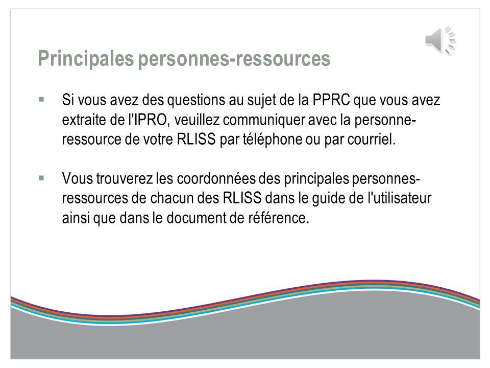Soumission de la PPRC dans l'IPRO  Vous pouvez maintenant soumettre le rapport. Pour ce faire, faites un clic droit et sélectionnez Submission Status