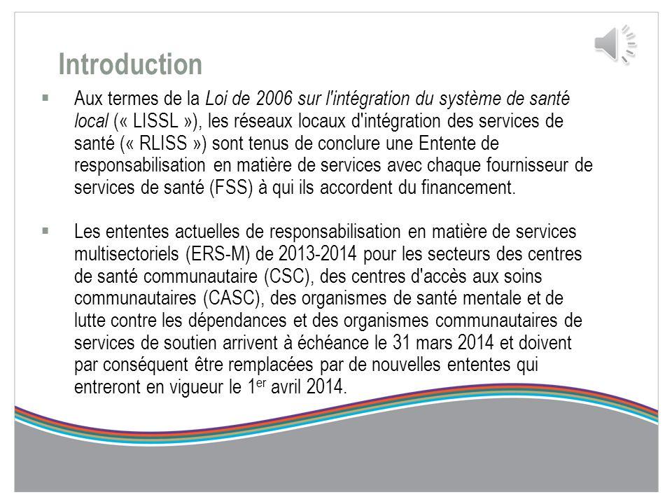 Documents utiles  Loi de 2006 sur l'intégration du système de santé local (LISSL)  Document de référence de la PPRC 2014-2017  Guide de l'utilisate