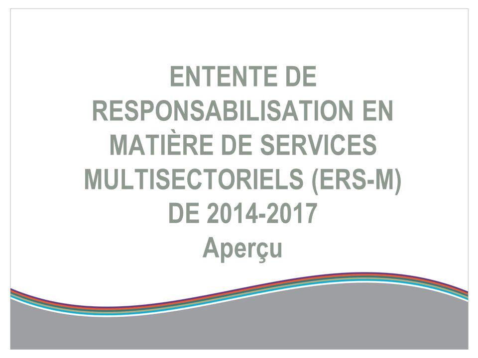 Introduction  Aux termes de la Loi de 2006 sur l'intégration du système de santé local (« LISSL »), les réseaux locaux d'intégration des services de