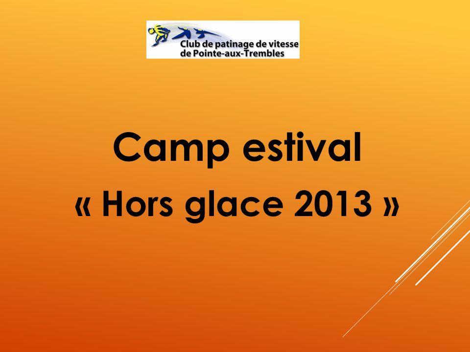Camp estival « Hors glace 2013 »